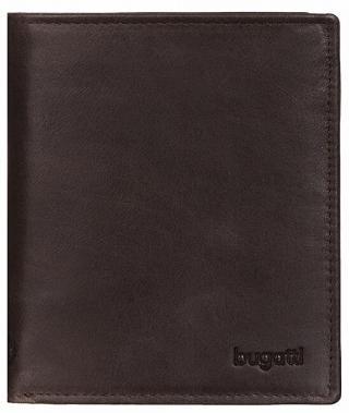 Bugatti Pánska kožená peňaženka Volo 49218302 Brown pánské