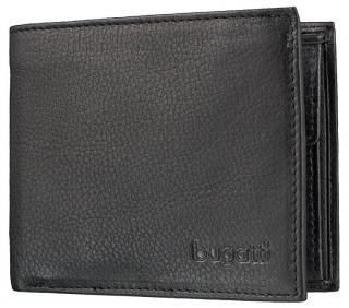 Bugatti Pánska peňaženka Sempre 49117901 Black pánské