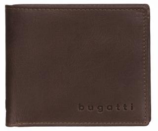 Bugatti Pánska peňaženka Volo 49218202 Brown pánské