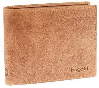 Bugatti Pánska peňaženka Volo 49218207 Cognac pánské