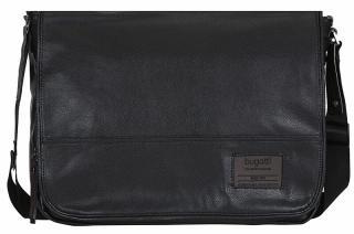 Bugatti Pánska taška na notebook Moto D 49825801 Black pánské