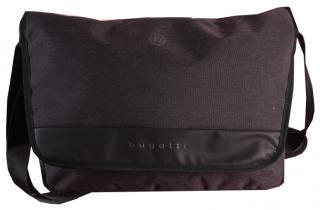 Bugatti Pánska taška na notebook Universum 49393201 Black pánské