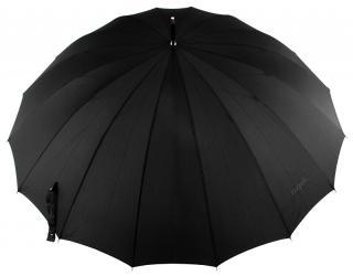 Bugatti Pánsky palicový manuálny dáždnik Doorman černá pánské