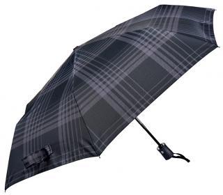 Bugatti Pánsky skladací plne automatický dáždnik Buddy Duo 744367002BU pánské