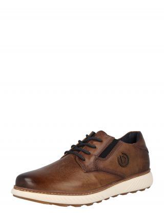 bugatti Šnurovacie topánky  hnedá pánské 40
