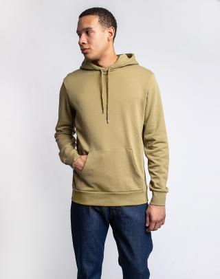 By Garment Makers The Organic Hoodie Sweatshirt - Jones 2908 Dried Herb L pánské Zelená L