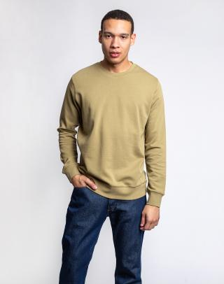 By Garment Makers The Organic Sweatshirt 2908 Dried Herb XL pánské Zelená XL