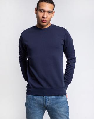 By Garment Makers The Organic Sweatshirt 3096 Navy Blazer L pánské Modrá L