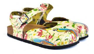 Calceo farebné sandále Classic Sandals Parrot - 36 dámské farebná 36
