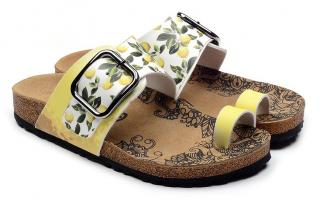 Calceo žlté sandále Thong Sandals Lemon - 36 dámské žltá 36