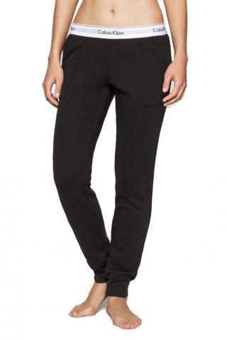 Calvin Klein čierne dámske tepláky Pant Jogger - S dámské čierna S