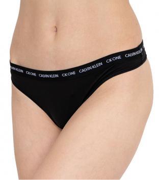 Calvin Klein Dámske nohavičky CK One Thong QD3790E-001 M dámské