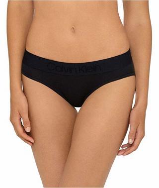 Calvin Klein Dámske nohavičky Tonal Logo Bikini QF4943E-001 Black L dámské