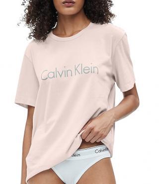 Calvin Klein Dámske tričko S / S Crew Neck Nymphs Thigh QS6105E 2NT L