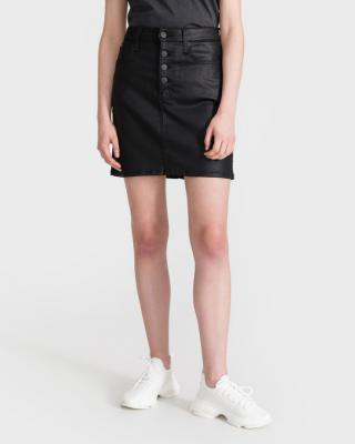 Calvin Klein High Rise Mini Sukňa Čierna dámské 31