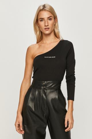 Calvin Klein Jeans - Blúzka dámské čierna S