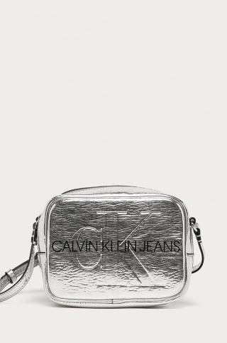 Calvin Klein Jeans - Kabelka dámské strieborná ONE SIZE