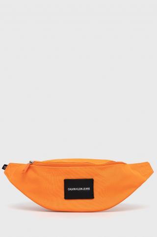 Calvin Klein Jeans - Ľadvinka pánské oranžová ONE SIZE