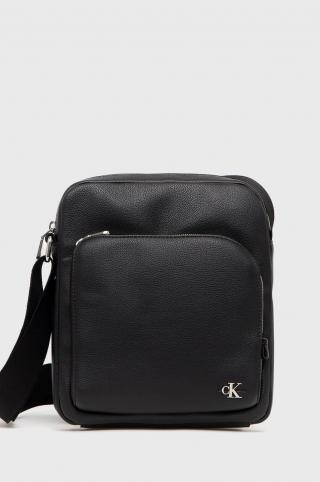 Calvin Klein Jeans - Malá taška pánské čierna ONE SIZE