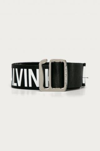 Calvin Klein Jeans - Opasok pánské čierna 110