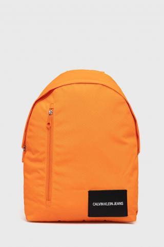Calvin Klein Jeans - Ruksak pánské oranžová ONE SIZE