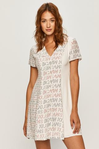 Calvin Klein Jeans - Šaty dámské biela XS