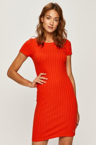 Calvin Klein Jeans - Šaty dámské červená S