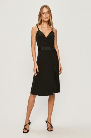 Calvin Klein Jeans - Šaty dámské čierna XS