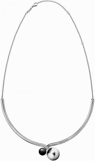Calvin Klein Luxusné oceľový náhrdelník Bubbly KJ9RMJ040100