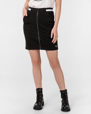 Calvin Klein Milano Monochrome Sukňa Čierna dámské L