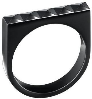 Calvin Klein Oceľový prsteň Edge KJ3CBR1001 55 mm dámské