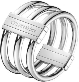 Calvin Klein Oceľový prsteň Insync KJBDMR0001 50 mm dámské