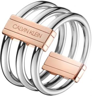 Calvin Klein Oceľový prsteň Insync KJBDPR2001 55 mm dámské