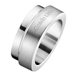 Calvin Klein Oceľový prsteň Loud KJ6AMR0801 57 mm dámské