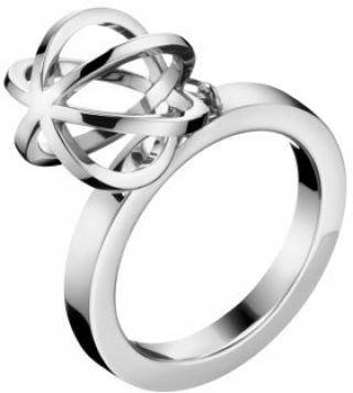 Calvin Klein Oceľový prsteň Show KJ4XMR00020 52 mm dámské
