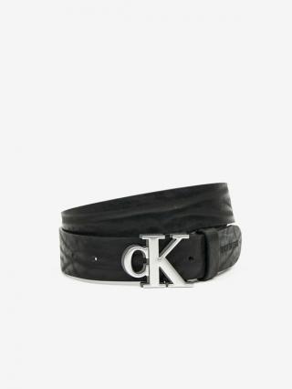 Calvin Klein Opasek Čierna pánské 100 cm