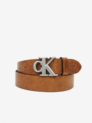 Calvin Klein Opasek Hnedá pánské 100 cm