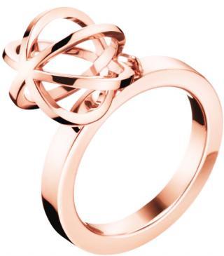 Calvin Klein Originálne pozlátený prsteň Show KJ4XPR1002 55 mm dámské