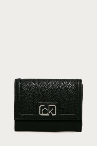 Calvin Klein - Peňaženka dámské čierna ONE SIZE