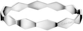 Calvin Klein Pevný oceľový náramok Snake KJ5DMD0001 7 cm - M dámské