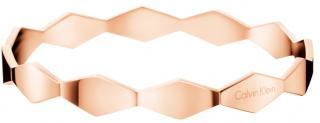 Calvin Klein Pevný ružovo zlatý náramok Snake KJ5DPD1001 6,5 cm - S dámské