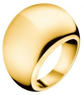 Calvin Klein Pozlátený prsteň Ellipse KJ3QJR1001 52 mm dámské