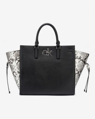Calvin Klein Python Kabelka Čierna Biela dámské UNI