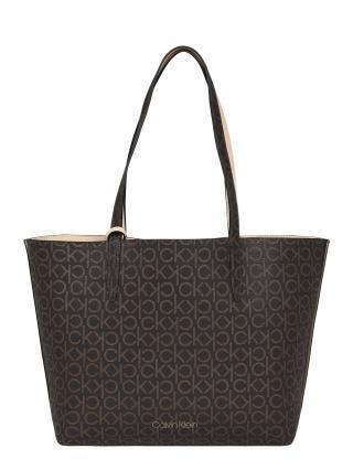 Calvin Klein Shopper  béžová / hnedá dámské One Size