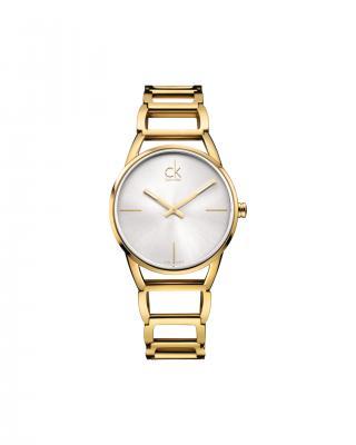 Calvin Klein Stately Hodinky Zlatá dámské UNI