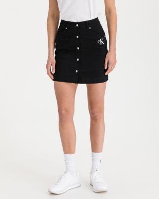 Calvin Klein Twill Sukňa Čierna dámské L
