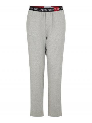 Calvin Klein Underwear Pyžamové nohavice SLEEP PANT  svetlosivá pánské S