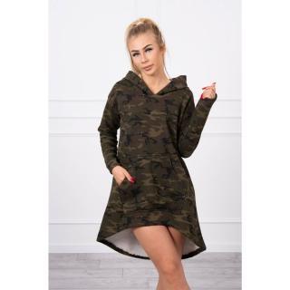 Camo dress khaki green dámské Neurčeno One size