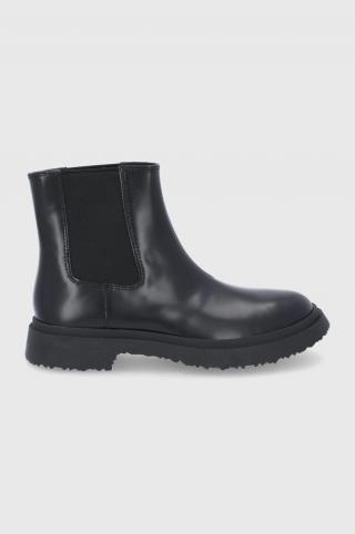 Camper - Kožené topánky Chelsea Walden pánské čierna 42