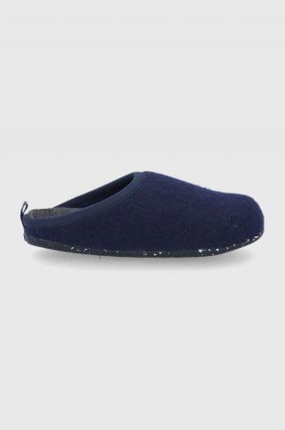 Camper - Vlnené papuče dámské tmavomodrá 36